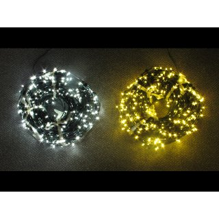 LED Lichterkette 12V, 100 Meter, 200 bis 666 LEDs